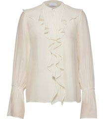 2nd apollo blouse lange mouwen crème 2ndday