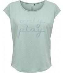 t-shirt korte mouw only play camiseta manga corta mujer 15217071