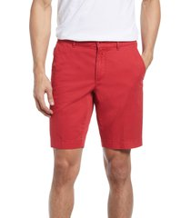brax bristol flat front chino shorts, size 56 in chili at nordstrom
