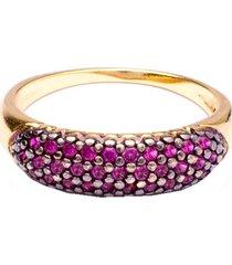 anel boca santa semijoias aparador português rosa   ouro amarelo