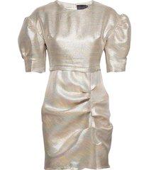 baker dress s/s korte jurk crème birgitte herskind
