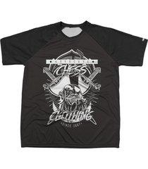 camiseta chess clothing estampa pirata preto