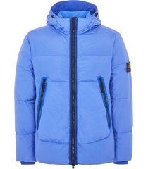 stone island dyed crinkle reps down jacket