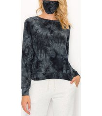women's cozy tie-dye raglan sweatshirt