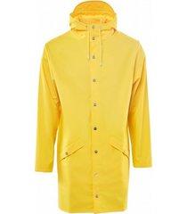 rains regenjas long jacket yellow-xs / s
