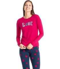 pijama legging estampado lovelly