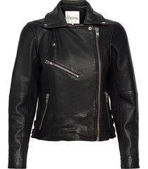 02 the leather jacket läderjacka skinnjacka svart my essential wardrobe