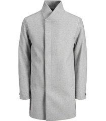 mantel jack & jones 12171389 jjecollum wool coat sts light grey melange