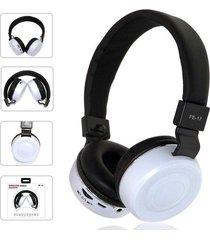 audífonos bluetooth, fe-17 plegable estéreo auricular-blanco