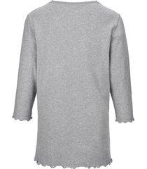 pyjama van 100% katoen met 3/4-mouwen van peter hahn grijs