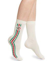women's gucci mini trilly tennis socks
