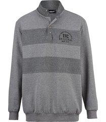 sweatshirt men plus grijs