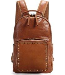 old trend soul stud leather backpack