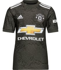 mufc a jsy y t-shirts football shirts zwart adidas performance