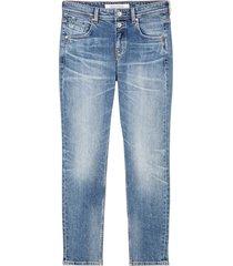 jeans theda boyfriend mid waist model