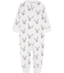 pyjamas rabbit faces pyjamas sie jumpsuit vit lindex