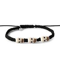 silver & onyx bracelet