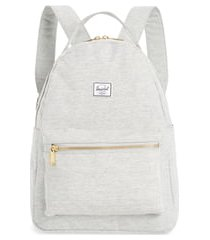 herschel supply co. nova mid volume backpack - grey