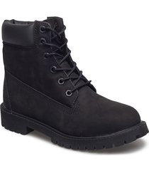 6 in premium wp boot shoes boots ankle boots ankle boot - flat svart timberland