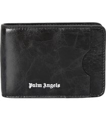 palm angels branded wallet