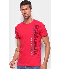 camiseta ecko básica e911a masculina - masculino