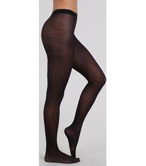 meia calça feminina trifil opaca fio 40 preta