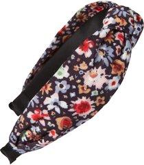 tasha knotted floral headband in black multi at nordstrom