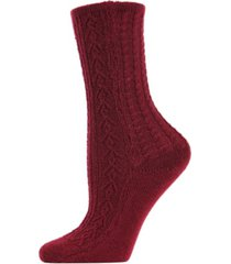 classic day knit women's crew socks