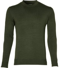 hensen pullover - slim fit - groen