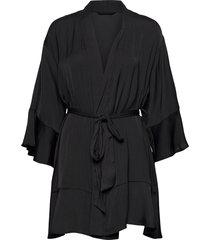 nw kimono lucy morgonrock svart lindex