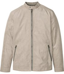 giacca in similpelle scamosciata (beige) - bpc selection