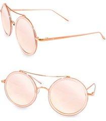 xo 50mm round sunglasses