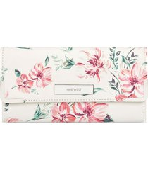 billetera whitley nine west para mujer blanco floral