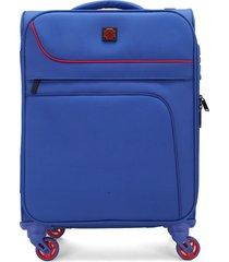 maleta azul swissbrand
