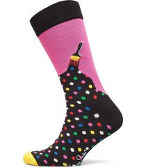 paint sock underwear socks regular socks rosa happy socks
