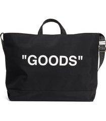men's off-white goods quote tote -