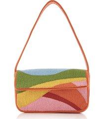exclusive tommy beaded shoulder bag
