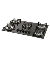 fogão de mesa 5 bocas cooktop bivolt fg5005vp suggar