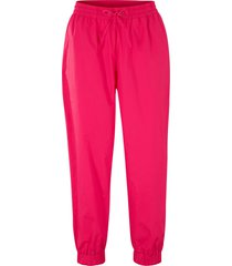 pantaloni cropped larghi in cotone (fucsia) - bpc bonprix collection