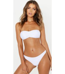 mix & match bandeau top, white