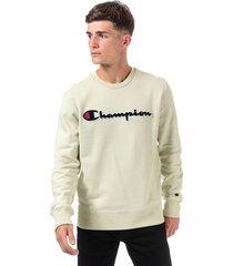 mens large logo sweatshirt