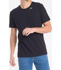 camiseta masculina logo ck one nas costas preta calvin klein jeans - p