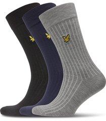 wesley underwear socks regular socks multi/mönstrad lyle & scott