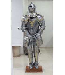 16th century italian medieval knight suit of armour halloween costume
