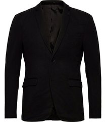 blazers knitted blazer colbert zwart esprit casual