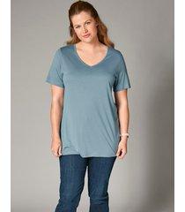 shirt janet & joyce ijsblauw