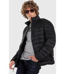chaqueta negro calvin klein