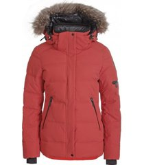 icepeak ski jas women blackey coral red-maat