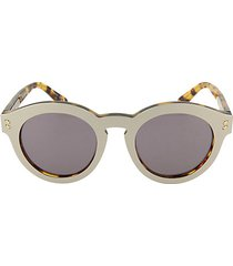 core 49mm round sunglasses