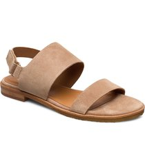 sandals 4151 shoes summer shoes flat sandals beige billi bi